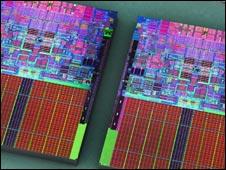 Quad core chip, Intel