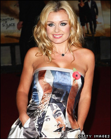 Katherine Jenkins, pictured recently