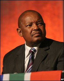 Mosiuoa Lekota in Johannesburg, 1 November 2008