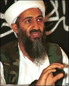 Osama bin Laden, pictured in Afghanistan in 1998