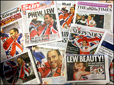 Lewis Hamilton dominates Monday's front page headlines