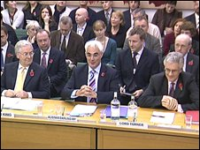 Mervyn King, Alistair Darling and Lord Turner