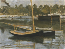 Argenteuil, Boat (study) by Edouard Manet