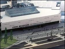 Model of the proposed terminal building