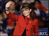 Sarah Palin el 3 de noviembre