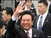 Chen Yunlin,  director de la Oficina de Asuntos Taiwaneses de la Rep�blica Popular China