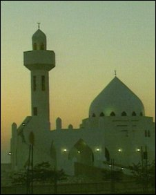 Mosque in saudi Arabia
