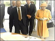 Queen at RBS in 2005