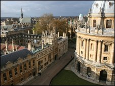 The Bodleian Library at Oxford University