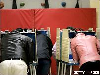 В голосовании на этот раз участвуют многие американцы, до этого не интересовавшиеся  политикой