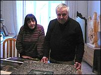 Елена Елагина и Игорь Макаревич
