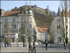 Ljubljana main square