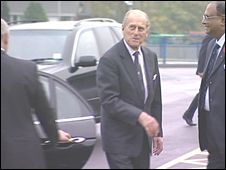 Prince Philip in the Black Country