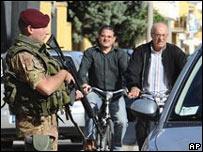 Солдат на юге Италии