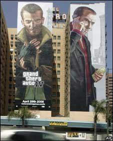 Publicity for GTA IV, AP