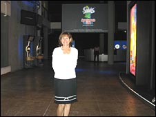 ea Nancy smith in lobby