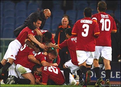 Roma celebrate