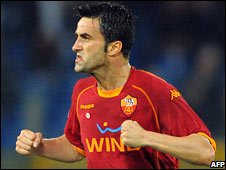 Roma's Chistian Panucci opened the scoring