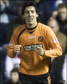 Dundee United striker Francisco Sandaza