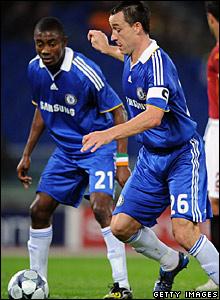 Salomon Kalou, John Terry, Chelsea