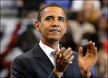باراك اوباما الرئيس الرابع والأربعين للولايات المتحدة الأمريكية