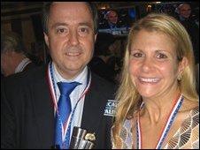 Deanna Puccio Ferraro and Fred Gander