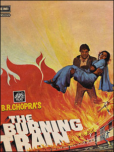 Poster of The Burning Train