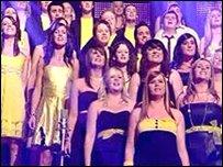 Ysgol Glanaethwy ar Last Choir Standing