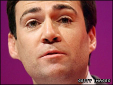 Culture, media and sport secretary Andy Burnham