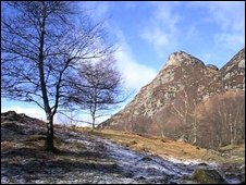 View of Ben A'an in the Trossachs. Pic by Undiscovered Scotland