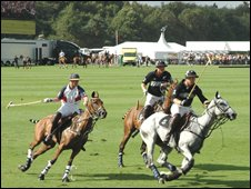 Polo at Guards
