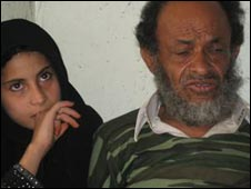 Arwa and her father Abdul Ali