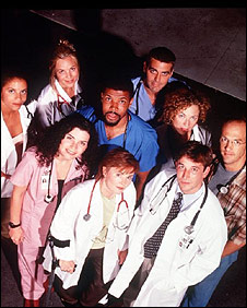 The original cast of ER