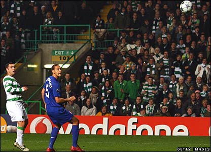 Scott McDonald (Celtic), Rio Ferdinand (Manchester United)