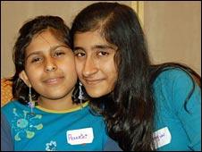 Prakriti and sister Shagun