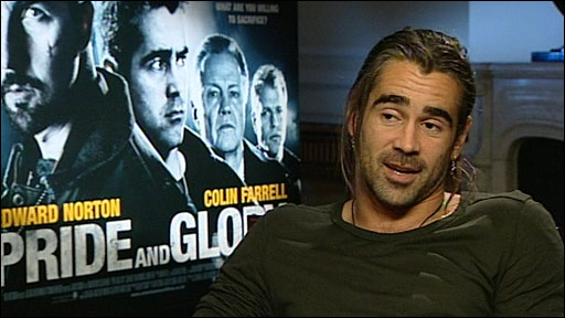 Colin Farrell on missing out on joining Boyzone.