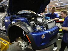 Mini on the production line
