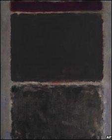 Mark Rothko's No 43 (Mauve)