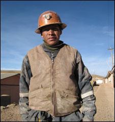 Local miner Vicente Reizo