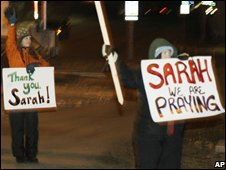 Sarah Palin supporters
