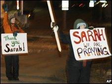 Sarah Palin supporters