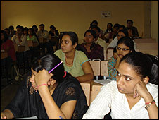 Law students at delhi University
