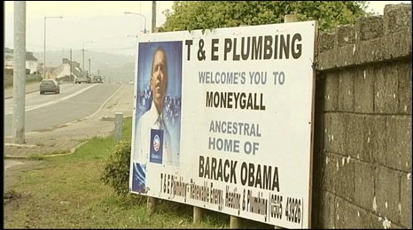 Moneygall business welcomes Obama win