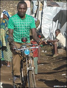 Ranger on a bicycle (Image: Gorilla.cd)