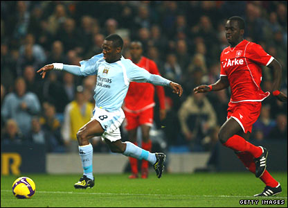 Shaun Wright-Phillips and Cheick Tiote