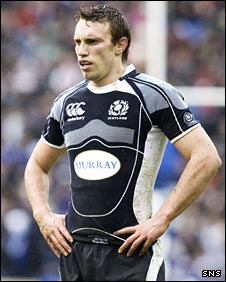 Scotland captain Mike Blair