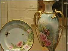 Pottery made by Royal Worcester and Spode
