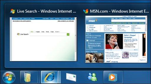 Windows 7 Sees Record Sales As Windows XP Users Upgrade WORK _45183483_windows7screenshot