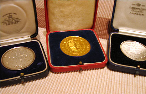 School and university medals