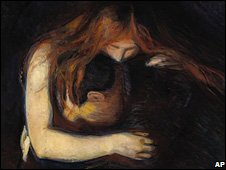 Vampire, by Edvard Munch, bucked the trend by selling for $38.1m (�24.2m) on Monday